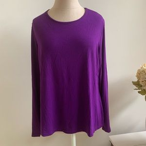 Chico's Neveah Long sleeve knit top-size 2